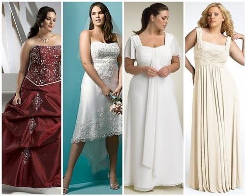 Affordable Full Figure Wedding Dresses