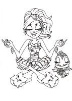 Kostenlose Malvorlagen Monster High