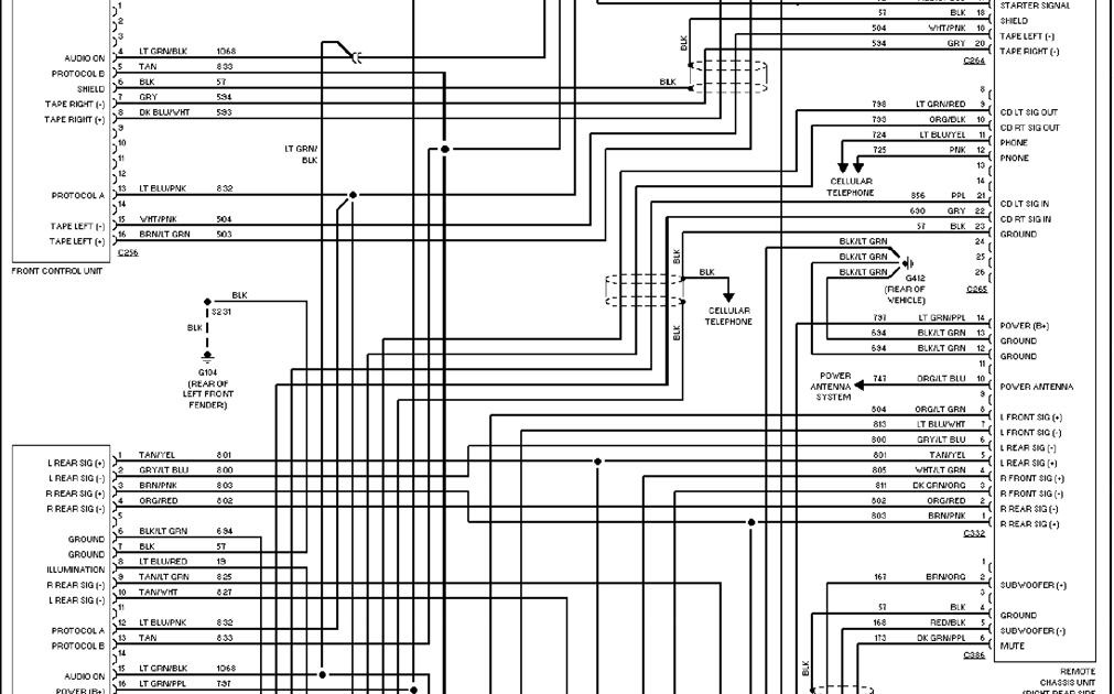 2006 Ford Explorer Wiring Diagram : 97 Ford Explorer