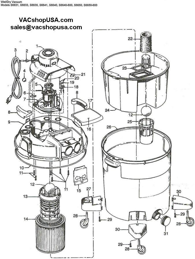 Wiring Diagram: 35 Shop Vac Switch Wiring Diagram