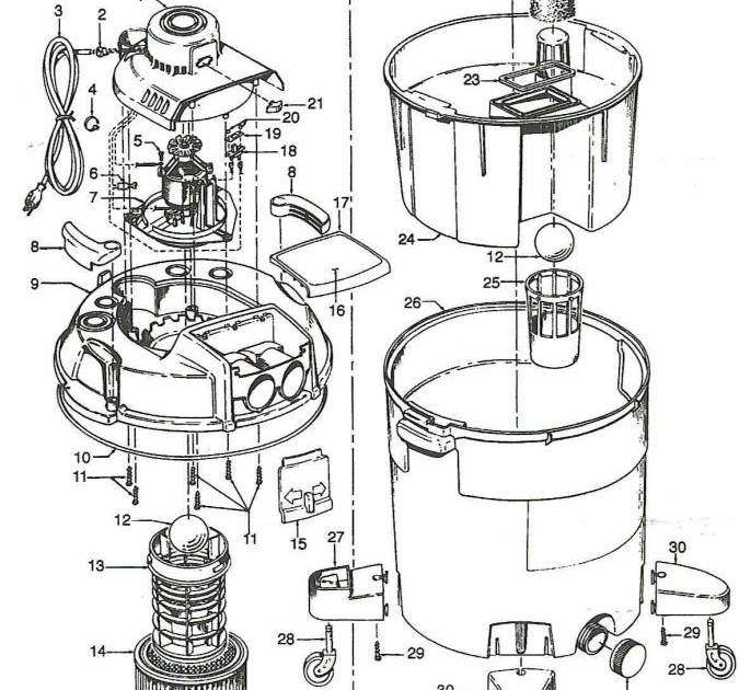 Shop Wiring Diagram : Get Wired / Shop vac corporation is