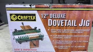 Harbor Freight Dovetail Jig Through Dovetails
