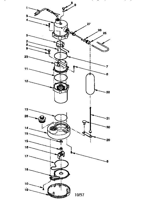 Wiring Diagram: 35 Little Giant Pump Parts Diagram