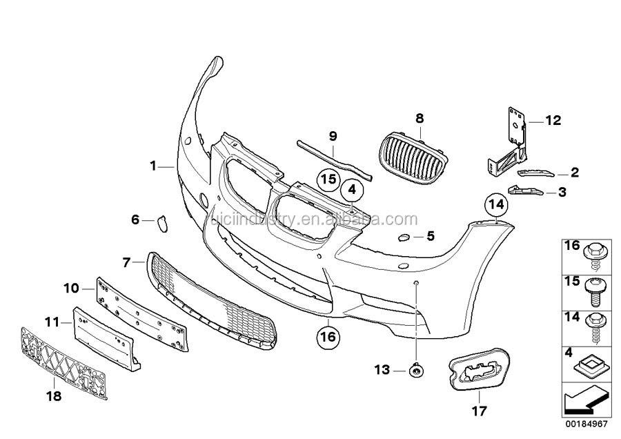 Honda Civic Body Parts Diagram
