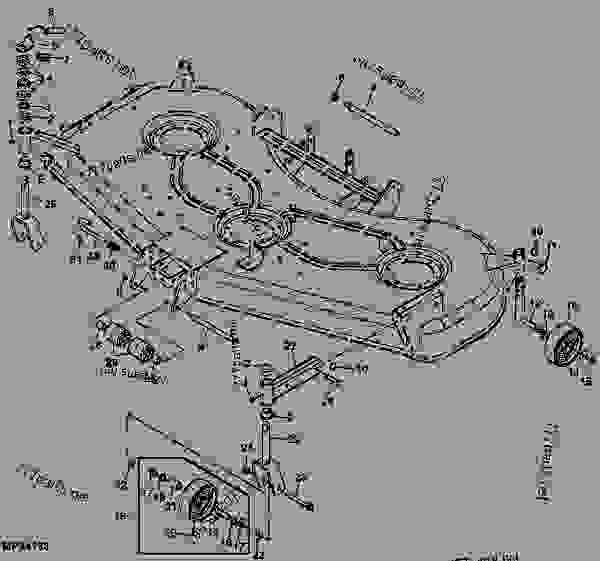 Wiring Database 2020: 25 John Deere 54c Mower Deck Diagram