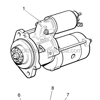 Generator Set Drawing
