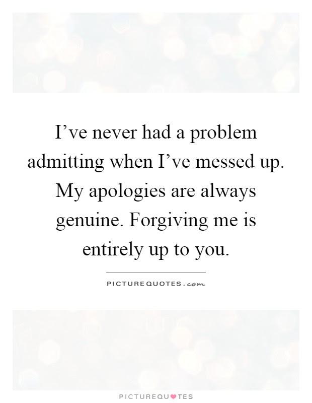 I Messed Up Quotes : messed, quotes, Messed, Quotes