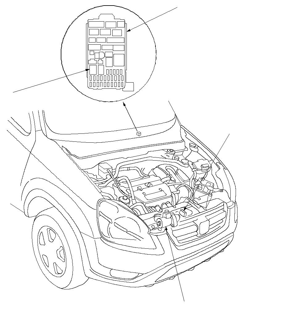 2004 Honda Crv Starter Solenoid Location