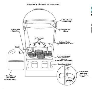 hydroponic 5 gallon bucket system ~ DIY Aquaponics