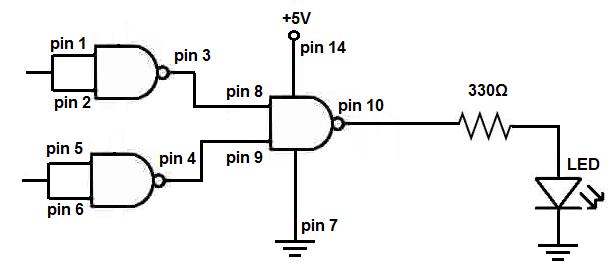 Circuit Diagram Of And Gate Using Nand Gate ~ DIAGRAM