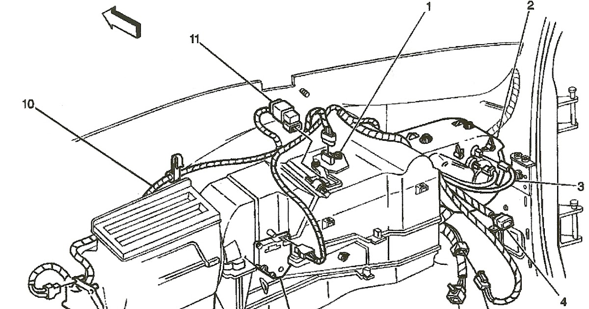 Wiring Diagram Database: 2000 Chevy Silverado Heater Hose