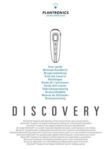 Read Online plantronics discovery 650 manual Free E-Book
