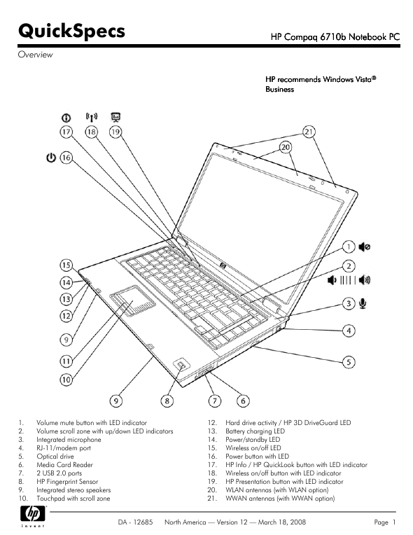 user manual for hp laptop ~ Notebook Information