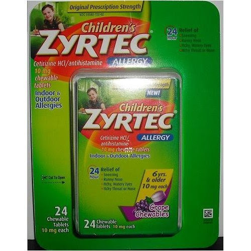 Claritin Cold Sores: Zyrtec Dosage For Children in USA