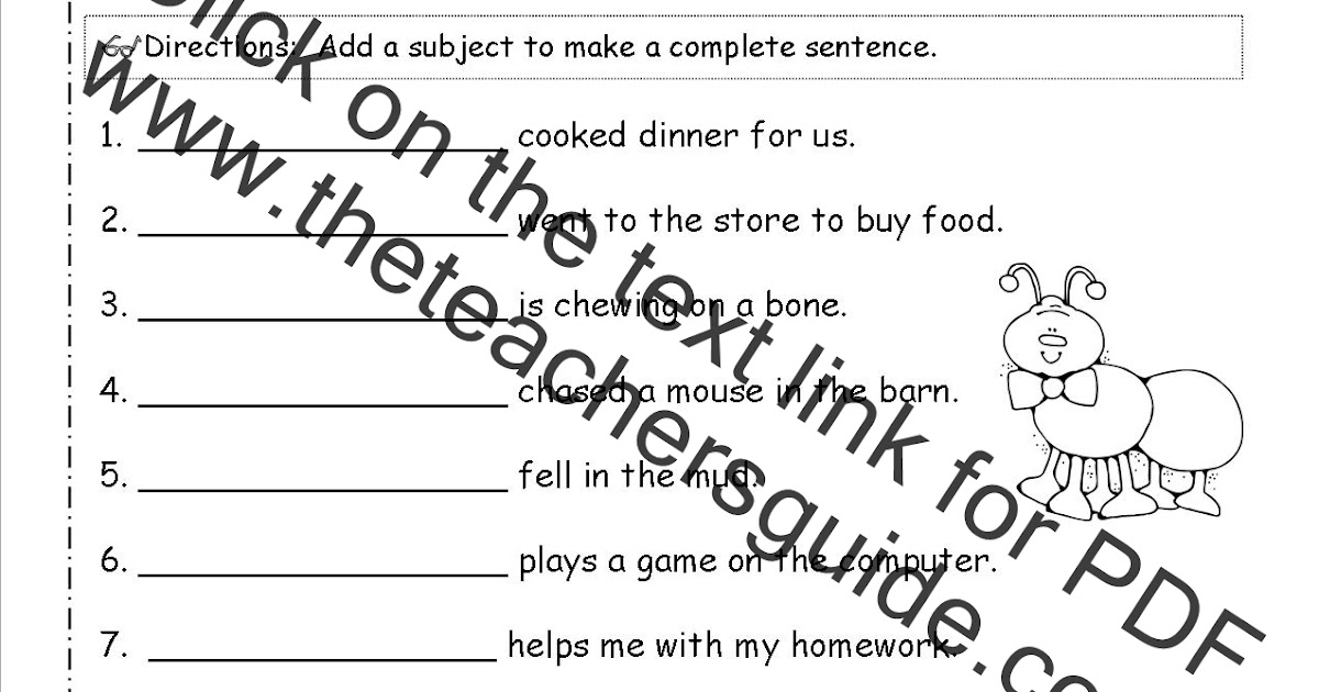 Parts Of A Map Worksheet 2nd Grade