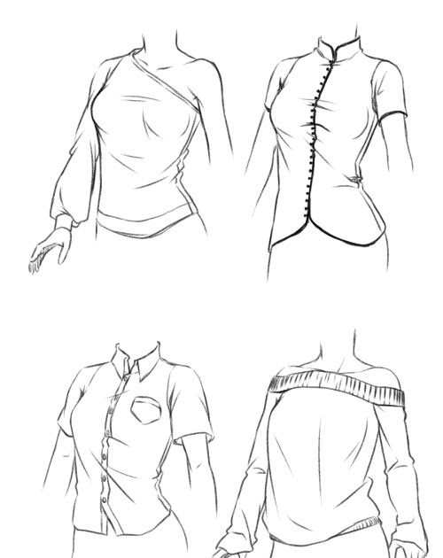 anime images: Anime Clothes Drawing Female