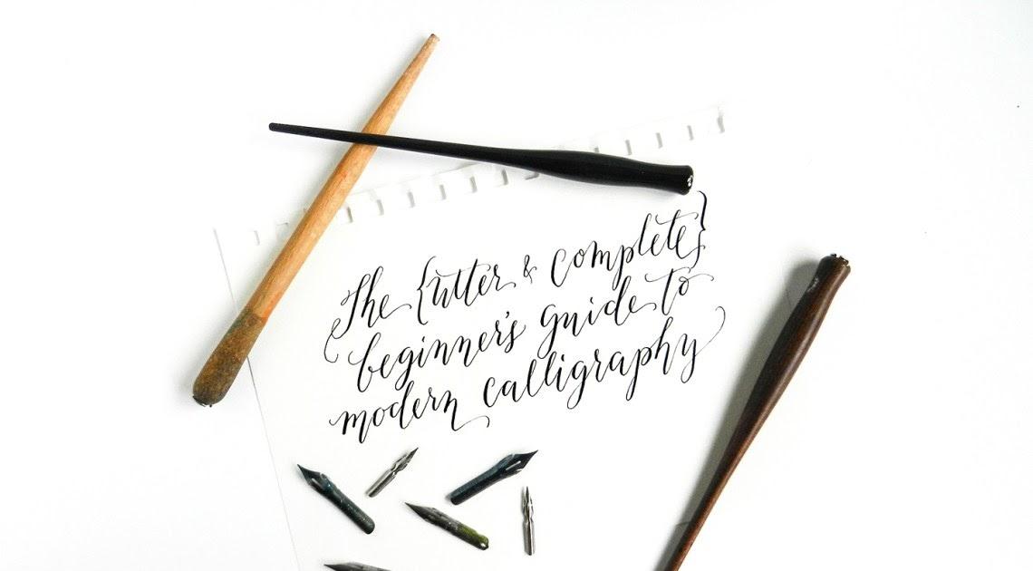 blog (MUDA): cara menulis Kaligrafi modern ( lettering