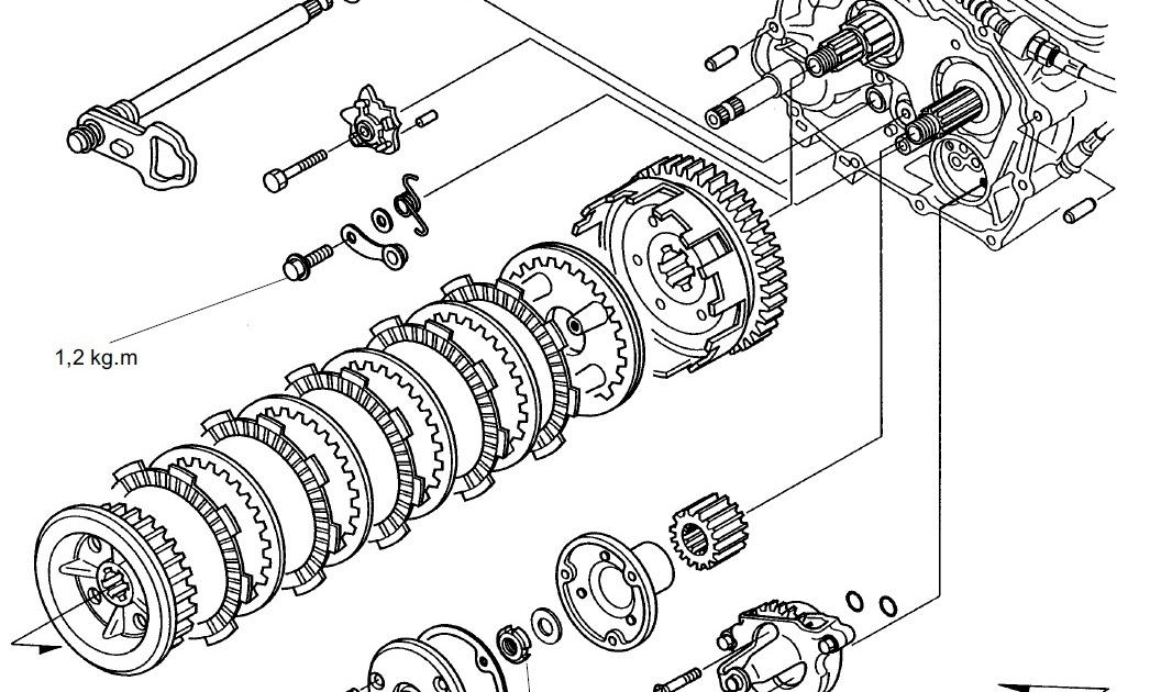 Repair Manual Blog: Wiring Diagram Honda Verza
