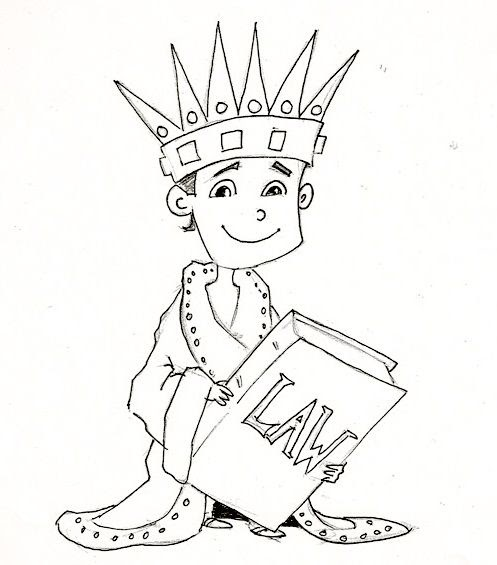 King Josiah Coloring Page ~ Scenery Mountains