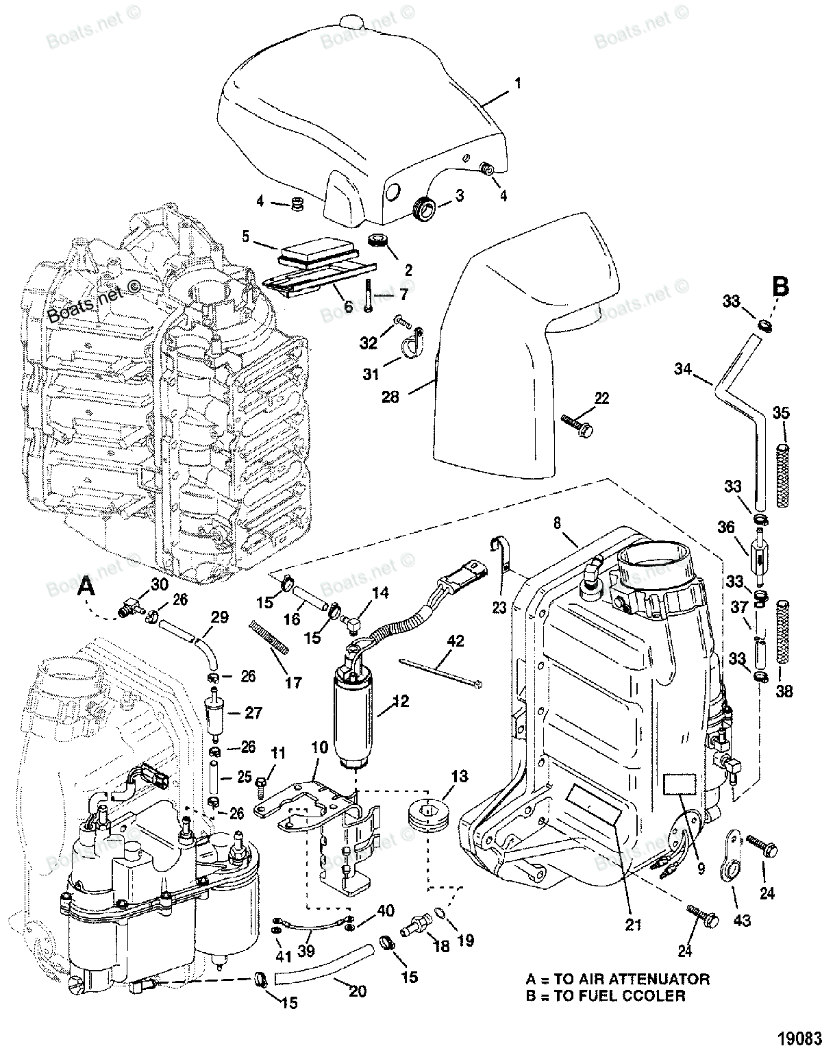 Wiring Diagram: 35 Optimax Fuel System Diagram