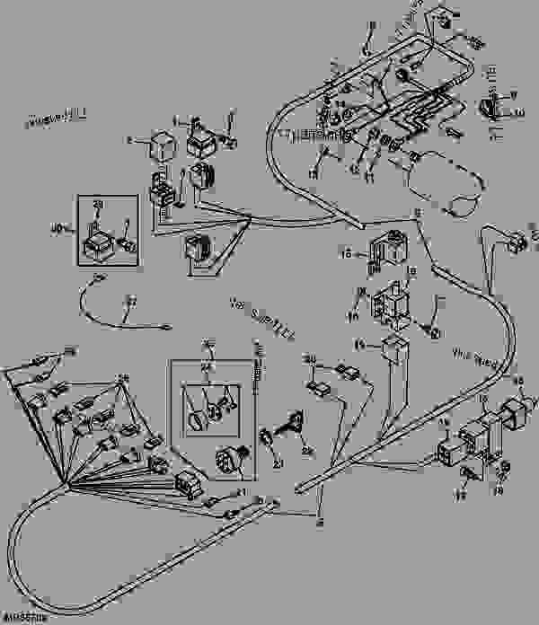 Wiring Diagram: 28 John Deere Gator 6x4 Wiring Diagram