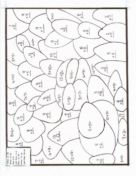 math coloring sheets : Large Multiplication Charts Times
