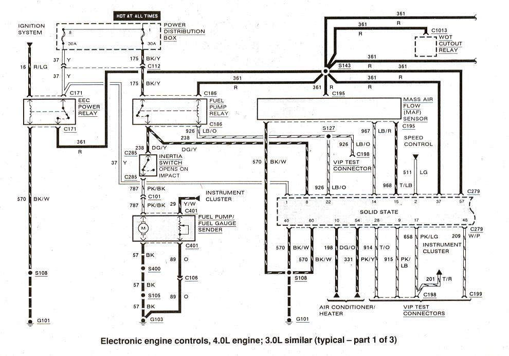 1996 Ford Ranger 23 Engine Diagram