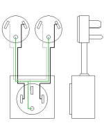 50 Amp Plug Wiring Diagram : wiring, diagram, Wiring, Diagram, Networks