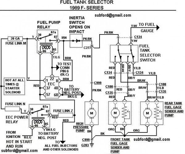 [DIAGRAM] 1989 Ford F150 Fuel System Wiring Diagram