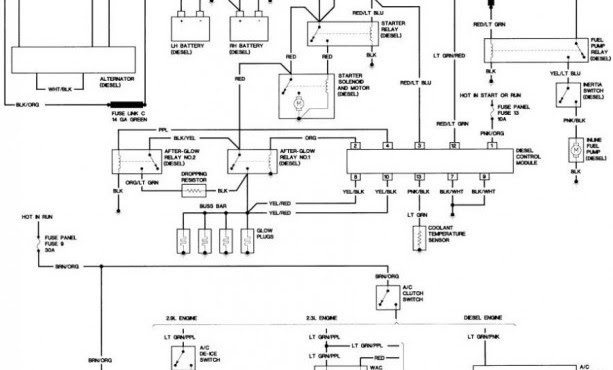 57 Chevy Ignition Switch Wiring Diagram / 57 Chevy Fuel