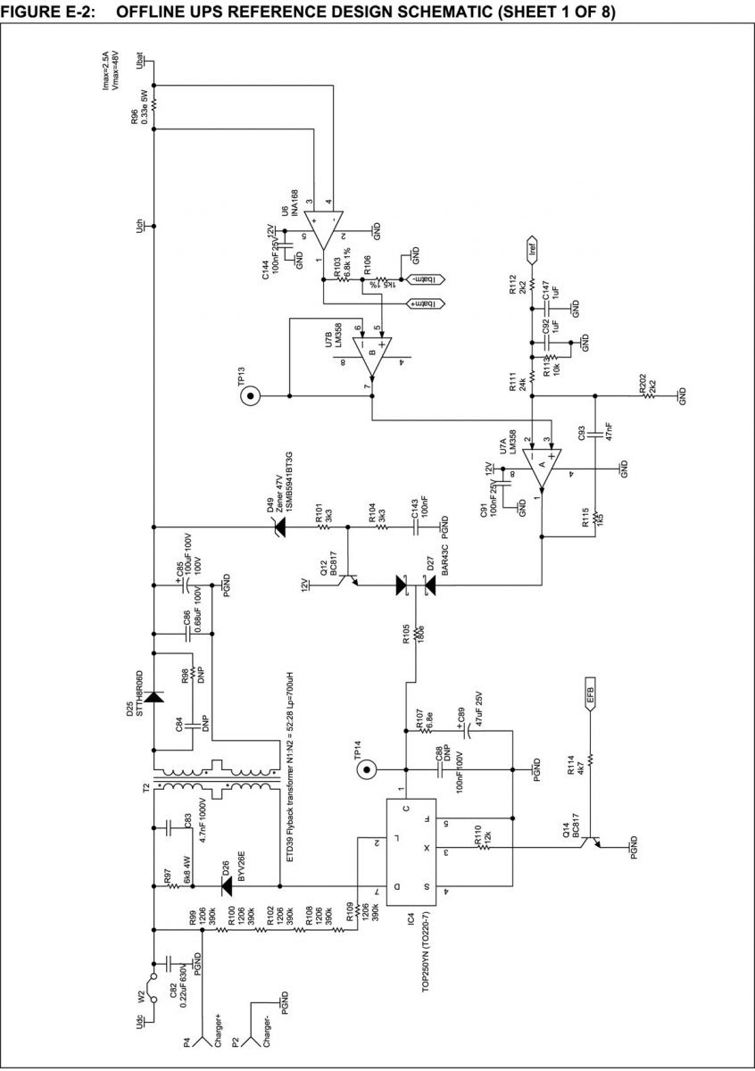 umax ups circuit diagram