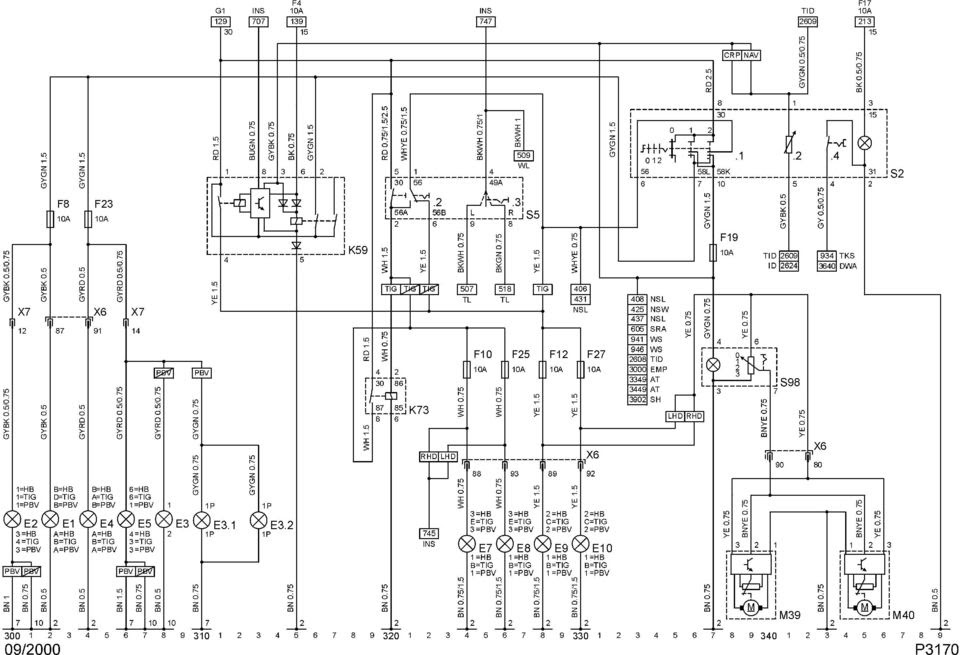 Schaltplan Nissan Micra K12