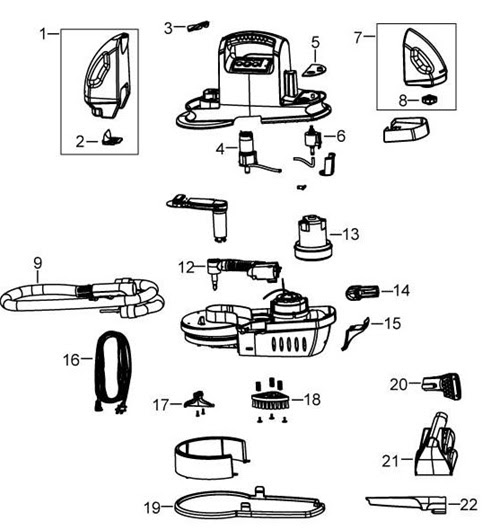 Wiring Diagram: 33 Bissell Proheat Pet Parts Diagram