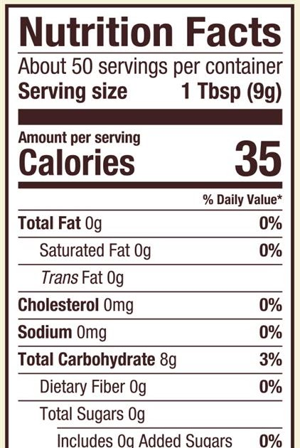 Nutritional Value Of Arrowroot Powder - NutritionWalls