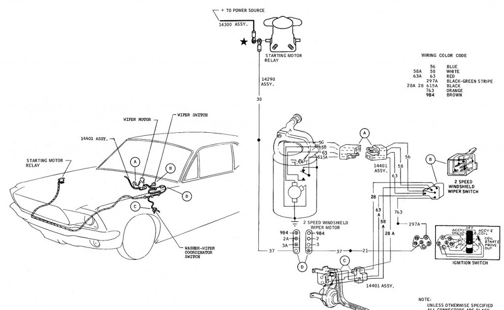 Bronco 2 Alternator Wiring Diagram