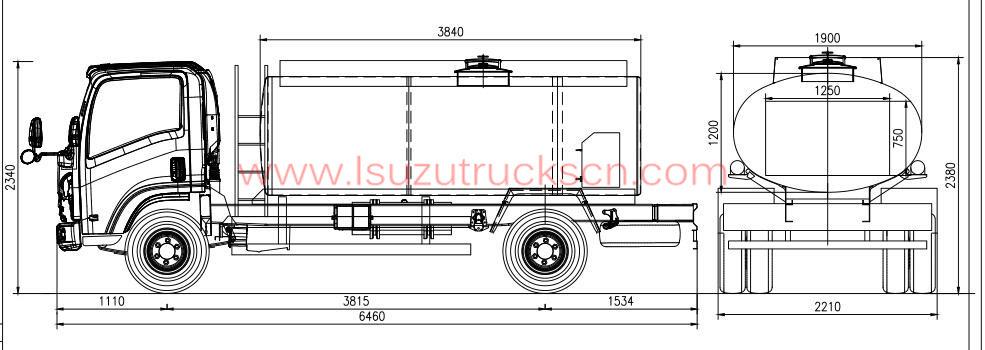 ISUZU Fire Trucks, ISUZU Fuel/Water Tanker Trucks, Isuzu