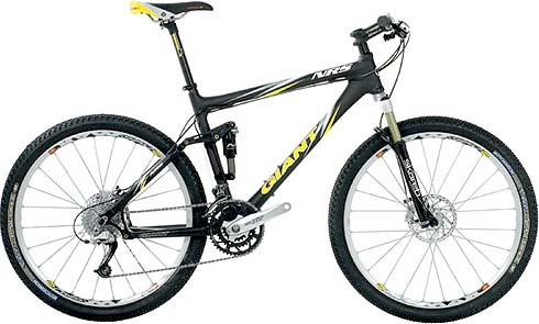 Larger Picture 2007 Giant Trance Mountain Bike Size