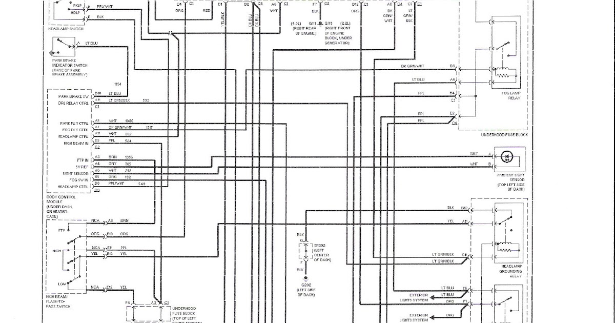 Wiring Diagram: 28 Chevy S 10 Engine Diagram