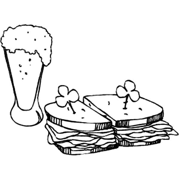 Peanut Butter And Jelly Coloring Page Sandwich grig3.org