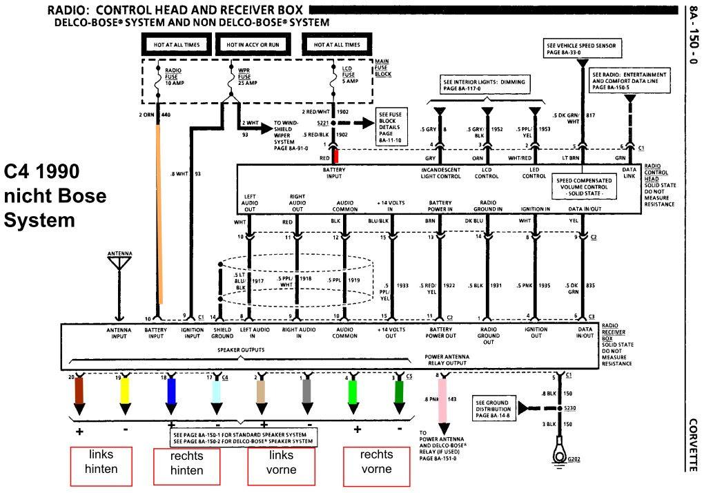 Citroen C4 Schaltplan