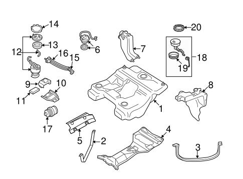 Audi A6 2.7 Quattro Biturbo 2000: Diagramas