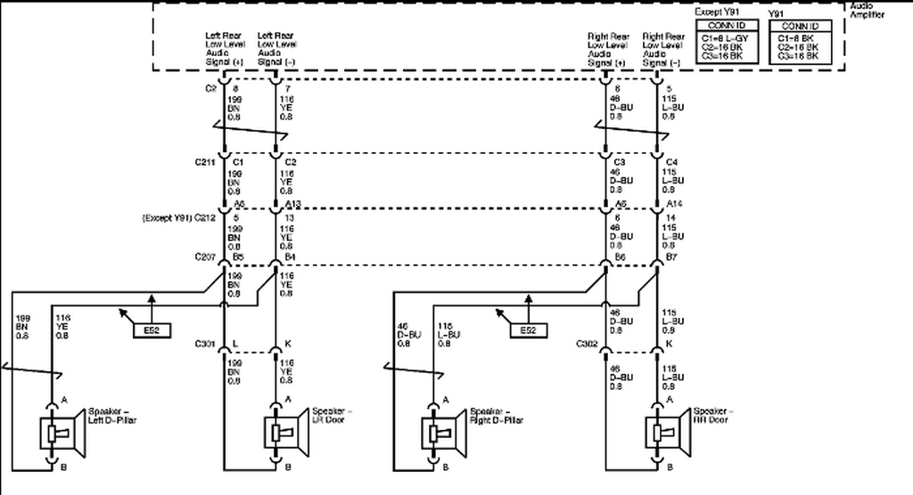 schematics and diagrams: 2007 Chevrolet Tahoe Z71: Radio