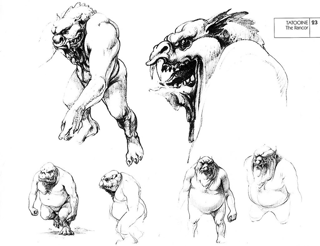 MONSTER BRAINS: Ralph Mcquarrie Sketches