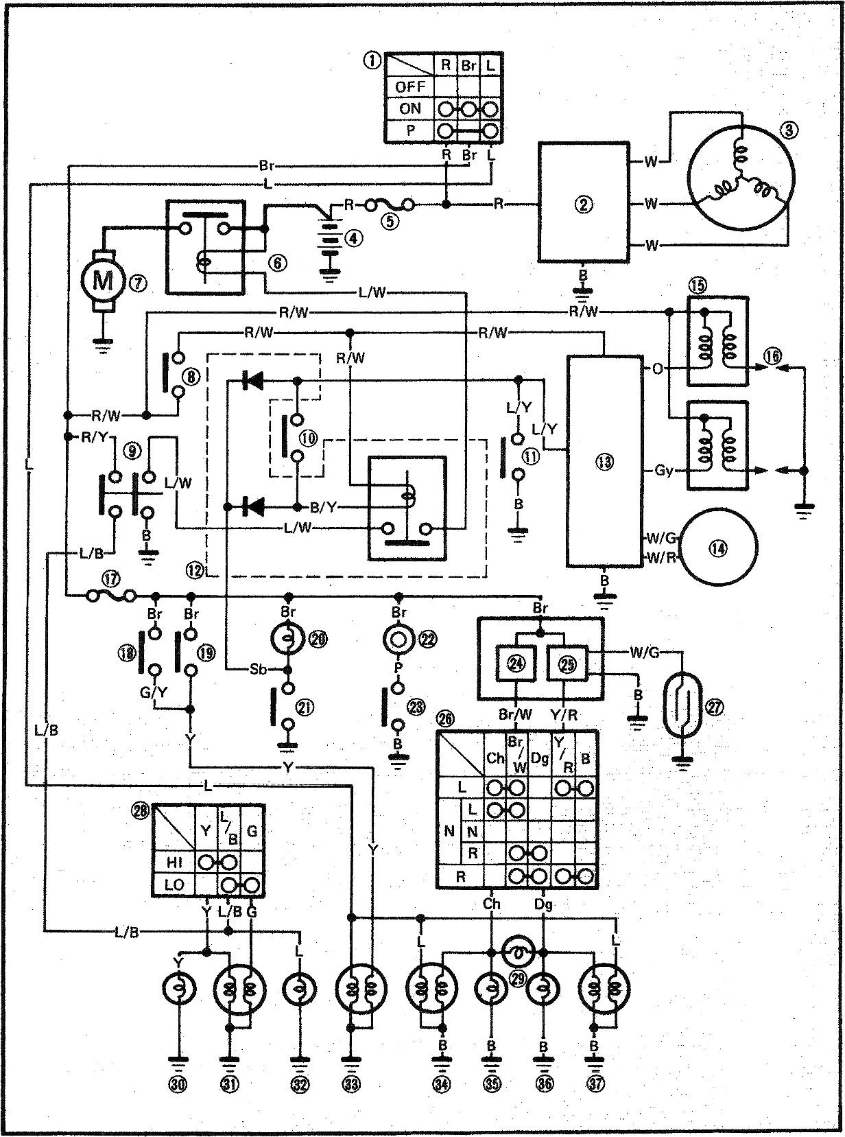 [DIAGRAM] Yamaha Virago Wiring Diagram FULL Version HD