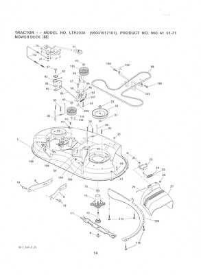 Fiche technique tracteur tondeuse: Husqvarna lt151