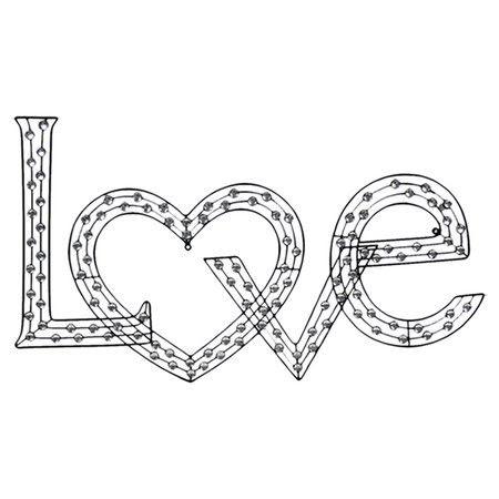 Fashion Week Collection: love wall decor