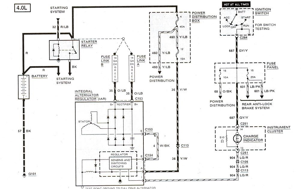 Wiring Database 2020: 25 1998 Ford F150 Radio Wiring Diagram