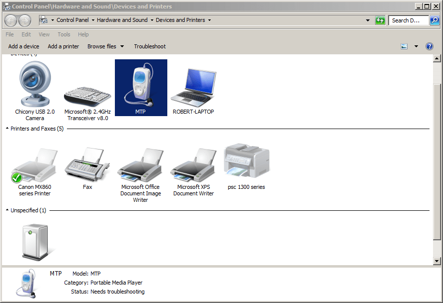 FILE BOST: Mtp Usb Device Driver For Windows 7