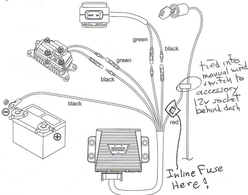 Wiring Diagram: 31 Wireless Winch Remote Wiring Diagram