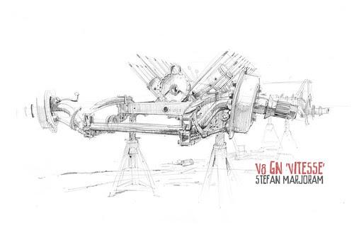stefan's sketch blog: V8 GN 'vitesse'